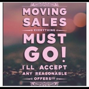 Other - MOVING SALE 🏡